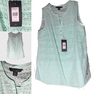 Tommy Hilfiger sleeveless women top size S NWT